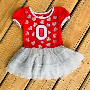 Other - Ohio State Buckeyes toddler dress